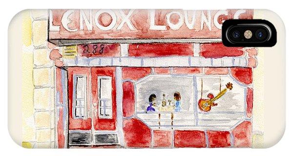 The Lenox Lounge IPhone Case