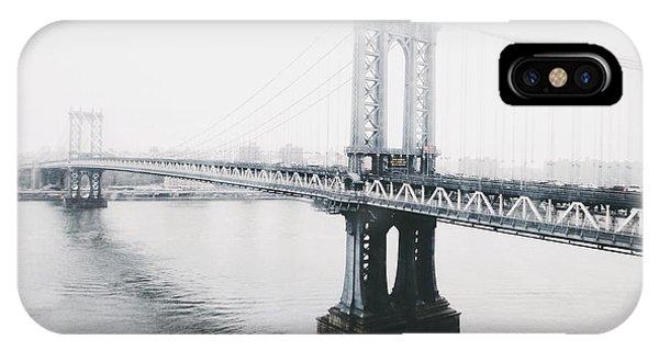 New York City iPhone Case - The Manhattan Bridge by Natasha Marco