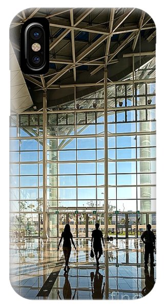 IPhone Case featuring the photograph The New Kaohsiung Exhibition Center by Yali Shi