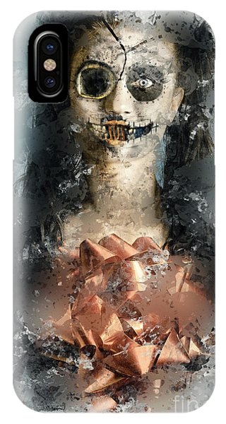 Frost Glass iPhone Case - The Nightmare Before A Bloody Mary Christmas by Jorgo Photography - Wall Art Gallery