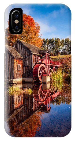 The Old Grist Mill IPhone Case