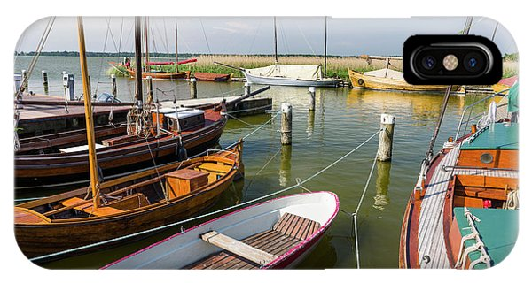 Pomeranian iPhone Case - The Old Harbor In Wieck by Martin Zwick