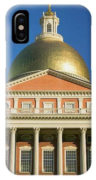 Capitol Building iPhone Case - The Old State House by Panoramic Images