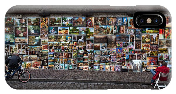 The Open Air Art Gallery IPhone Case