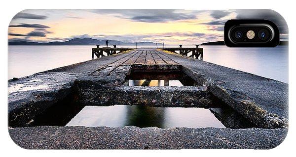 Beautiful Scotland iPhone Case - The Pier by John Farnan