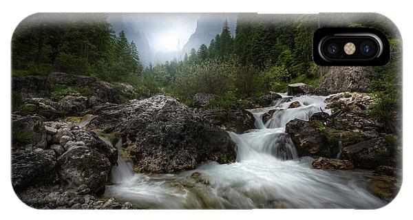 River Flow iPhone Case - The River by Francesco Tavani