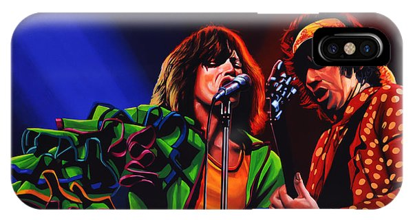 Musicians iPhone Case - The Rolling Stones 2 by Paul Meijering