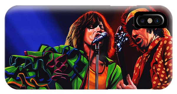 Rock And Roll iPhone Case - The Rolling Stones 2 by Paul Meijering