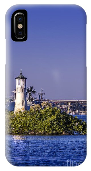 Navigation iPhone Case - The Tampa Lighthouse by Marvin Spates