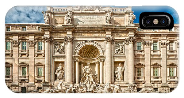 The Trevi Fountain - Rome IPhone Case