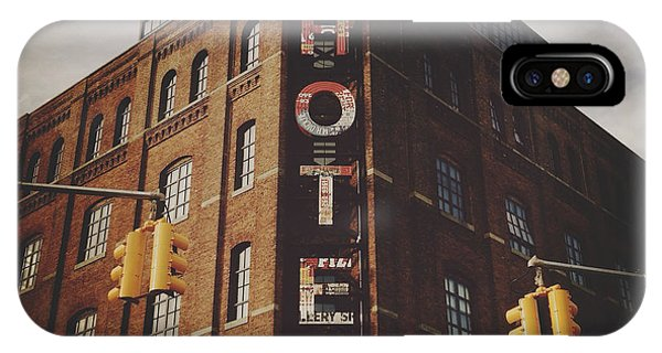 The Wythe Hotel IPhone Case