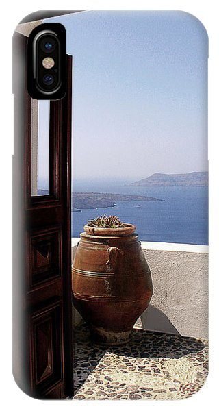Sea Floor iPhone Case - Through This Door by Julie Palencia