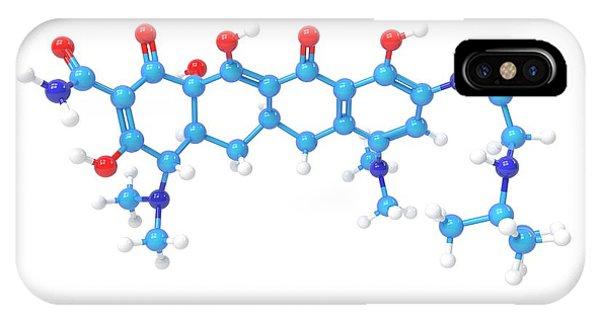 Tigecycline Antibiotic Molecule Phone Case by Indigo Molecular Images