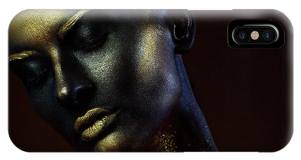 Faces iPhone Case - Time. Hourglasses. by Ivan Kovalev