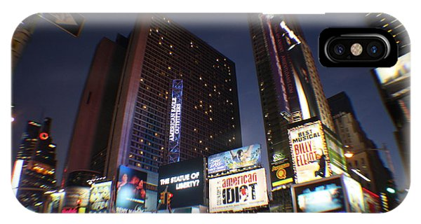 Times Square Nyc IPhone Case