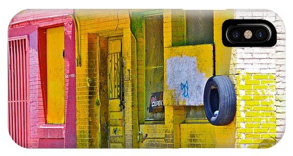 Tire Shop Phone Case by John Illingworth