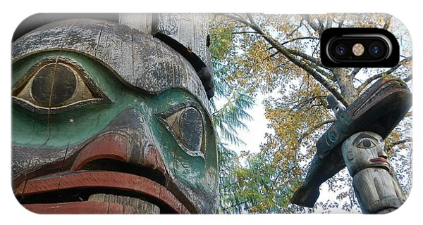 Tlingit Totem IPhone Case