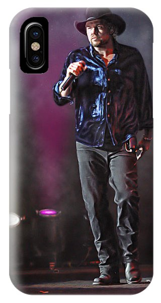 Ryman Auditorium iPhone Case - Toby Keith by Don Olea
