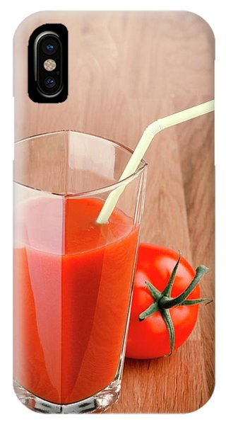 Well Being iPhone Case - Tomato Juice by Wladimir Bulgar