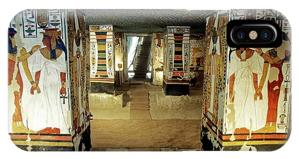 Tomb Of Queen Nefertari Phone Case by Patrick Landmann/science Photo Library