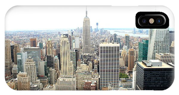 Top Of The Rock Phone Case by Jon Cotroneo