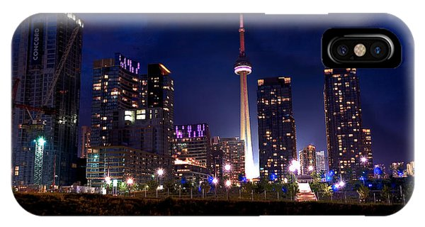 Toronto By Night IPhone Case