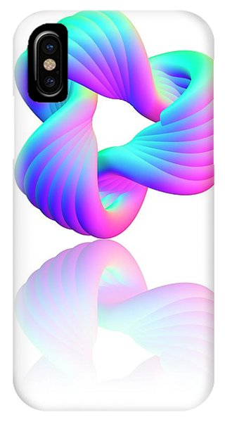Calculus iPhone Case - Torus Knot by Pasieka