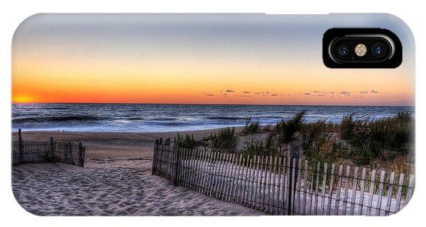 Tower Beach Sunrise IPhone Case