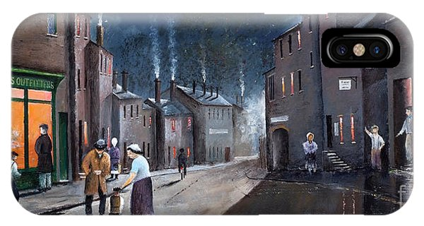 Tower Street Dudley C1930s IPhone Case