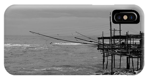 Trabocco On The Coast Of Italy  IPhone Case
