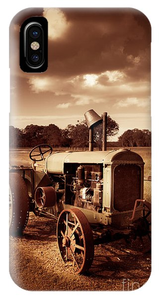 Farm Tool iPhone Case - Tractor From Yesteryear by Jorgo Photography - Wall Art Gallery