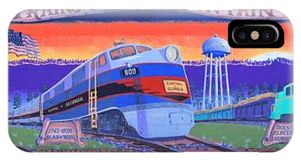 Trains Of Pine Mountain IPhone Case