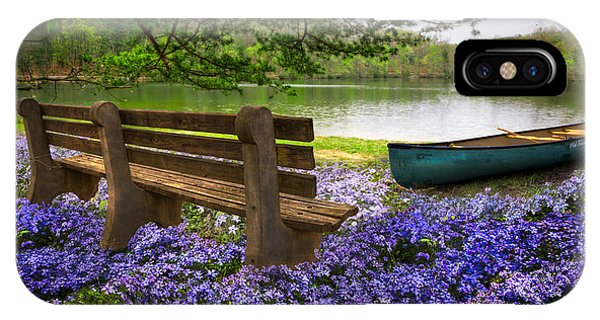 Chilhowee iPhone Case - Tranquility by Debra and Dave Vanderlaan