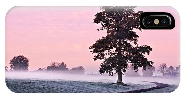 Tree At Dawn / Maynooth IPhone Case