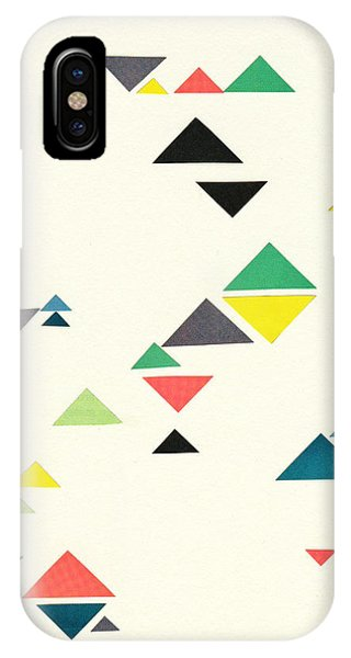 Simple iPhone Case - Triangles by Cassia Beck