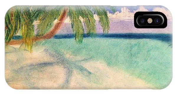 Tropical Shores IPhone Case