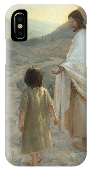Reach iPhone Case - Trust In The Lord by James L Johnson