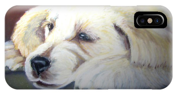 Tuckered Out Phone Case by Amber Nissen