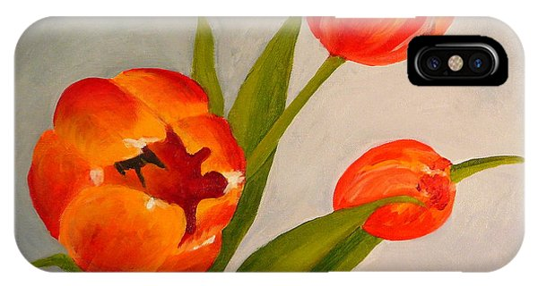 Tulips Phone Case by Valerie Lynch