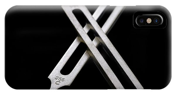 Tuning Forks Phone Case by Science Photo Library