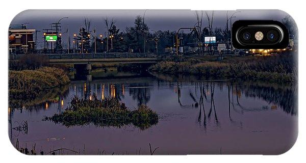 iPhone Case - River At Dusk. by Viktor Birkus