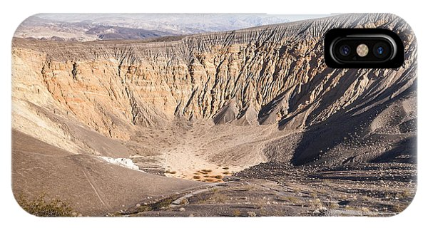 Ubehebe Crater IPhone Case