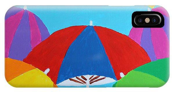 Umbrellas IPhone Case