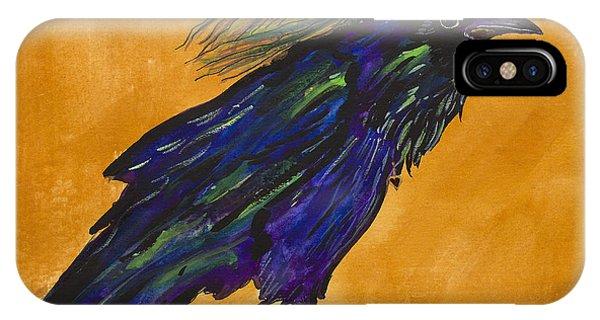 Uncommon Raven Love 3 IPhone Case