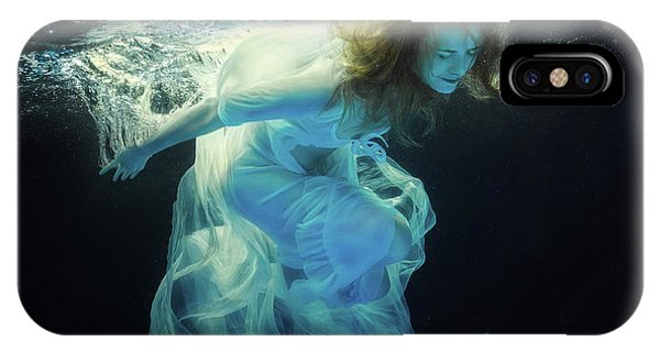Surface iPhone Case - Underwater Space by Dmitry Laudin