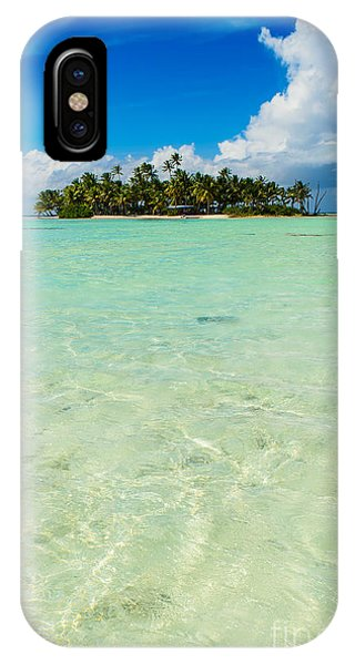 Uninhabited Island In The Pacific IPhone Case