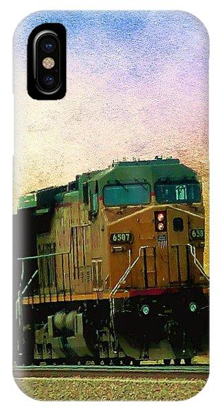 Union Pacific Coal Train IPhone Case