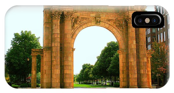 Union Station Arch IPhone Case