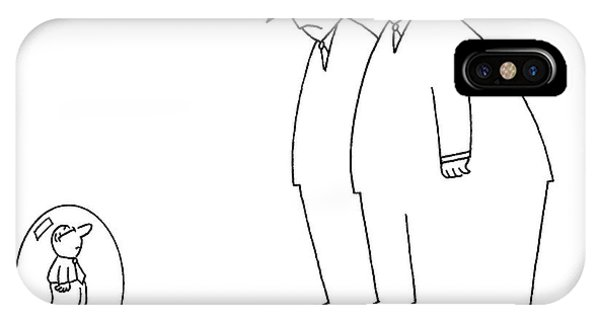 1 iPhone Case - Middle Class - We Thought We Should Keep One by Charles Barsotti