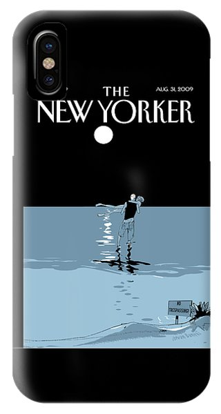 New Yorker August 31st, 2009 IPhone Case
